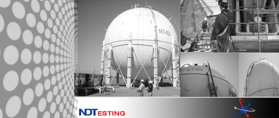 Método de inspección no destructiva de aplicacion integral pudiendo detectar discontinuidades de servicio incipientes y que permiten su detección inmediata