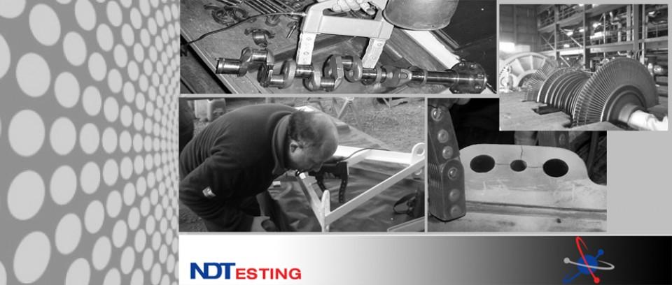 Permite detectar discontinuidades en piezas de fabricación y montaje, así como también, de piezas en servicio en cumplimiento a lo establecido
